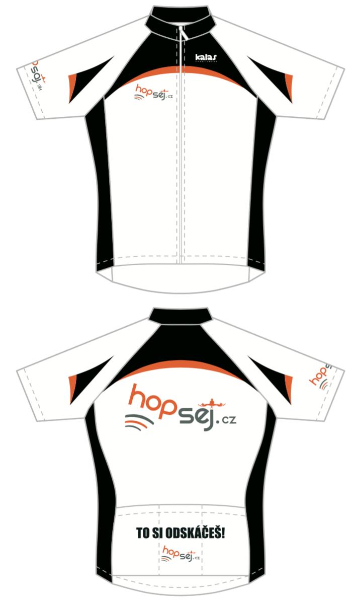 Cyklo dres krátký rukáv